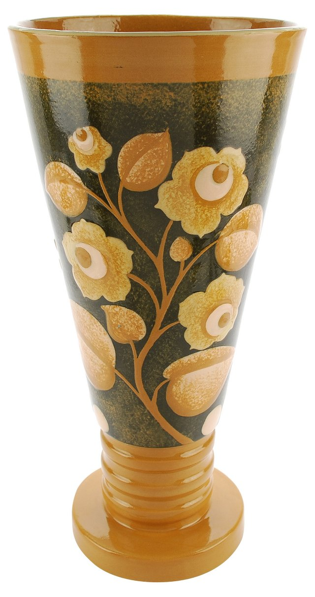 Boch Freres Deco Vase by Charles Catteau