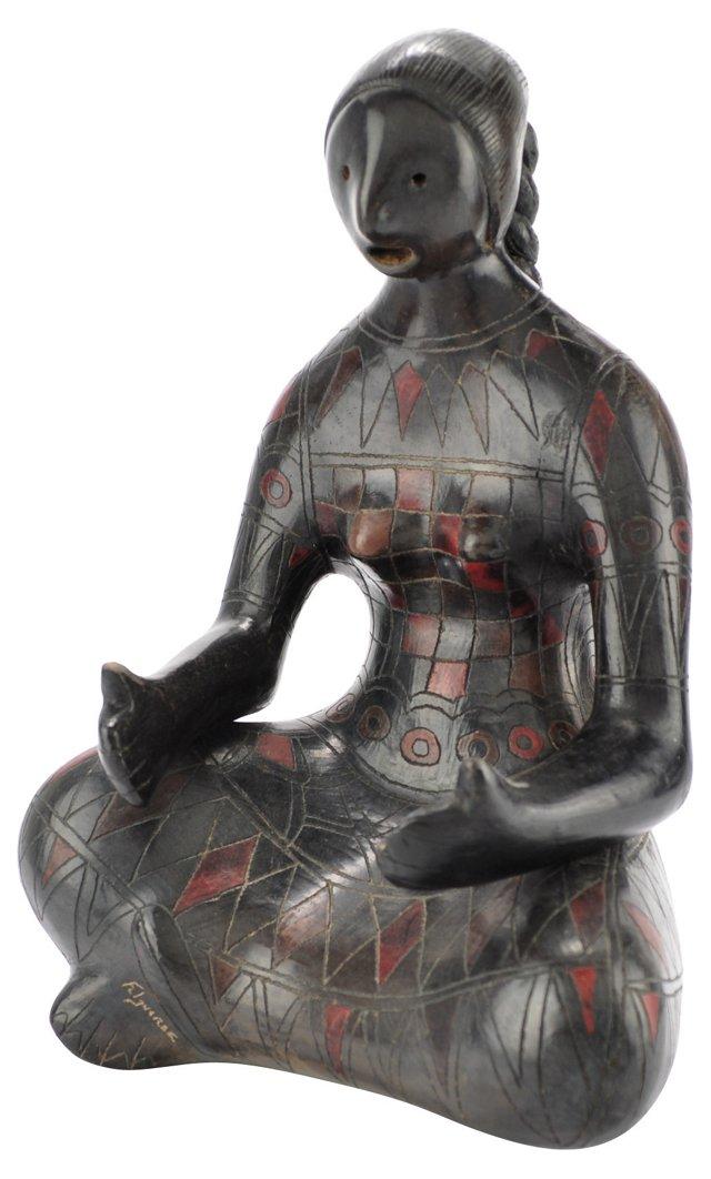 Manuel Felguerez Terracotta Sculpture