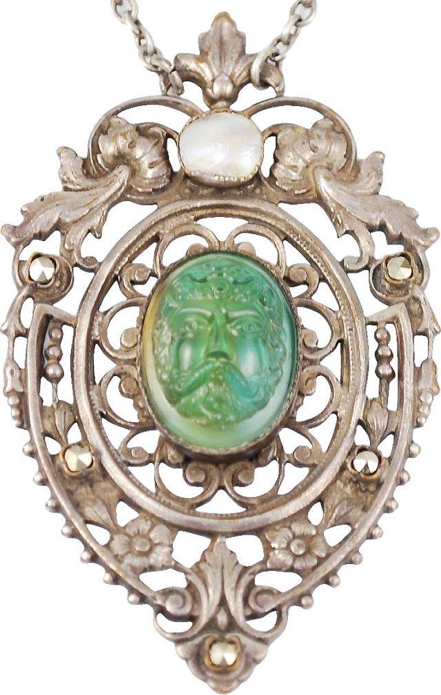 Antique Edwardian Pendant Necklace