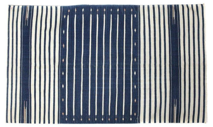 "Antique Dhurrie, Striped, 5'11"" x 3'5"""