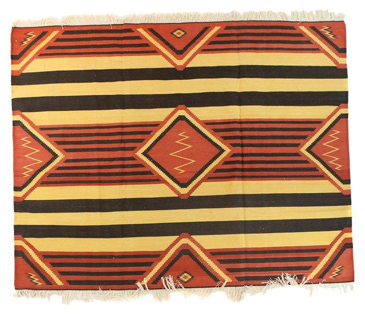 """Chief Blanket Dhurrie, 6'9"""" x 5'3"""""""