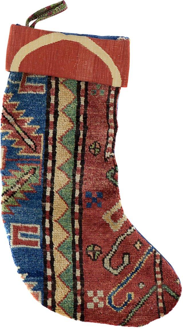 Kazak & Stripe Stocking II