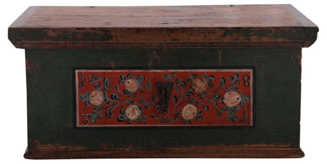 Early-19th-C. Wedding Chest