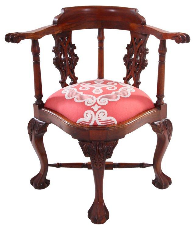 Walnut Cigar Chair