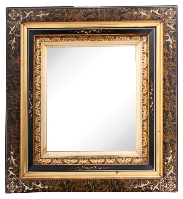 19th-C. French Antique  Mirror