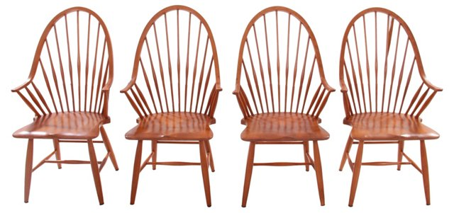 Windsor  Dining Chairs, S/4