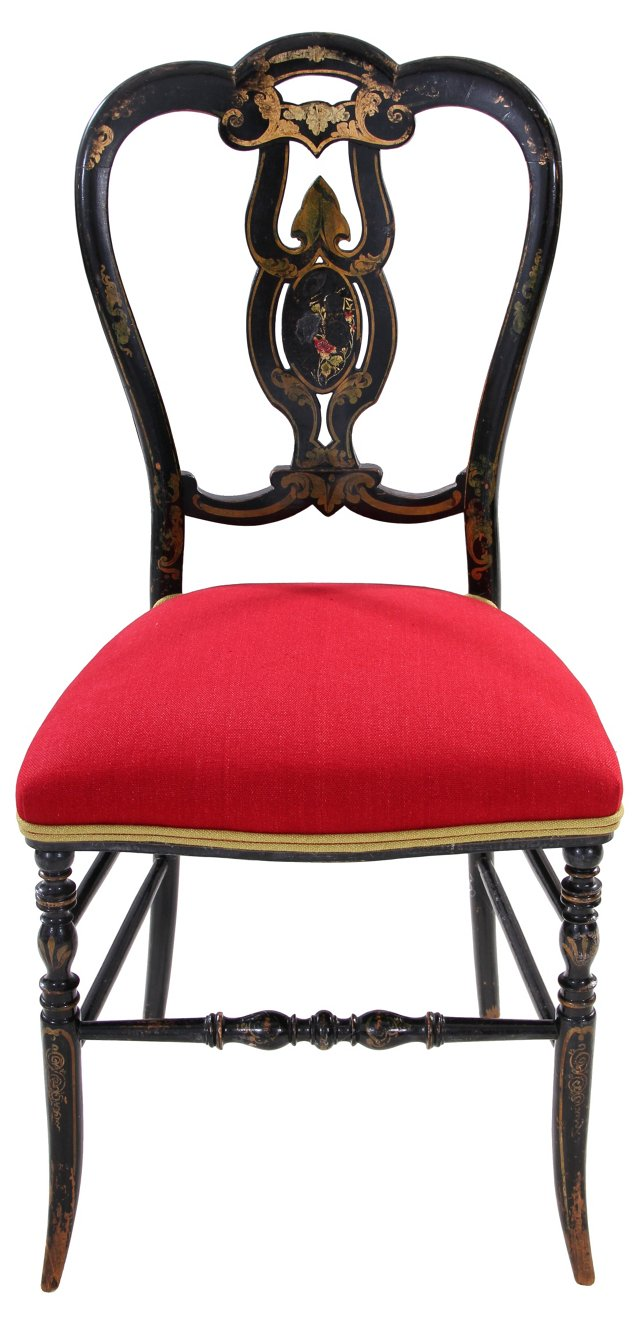 19th-C.  French Chair