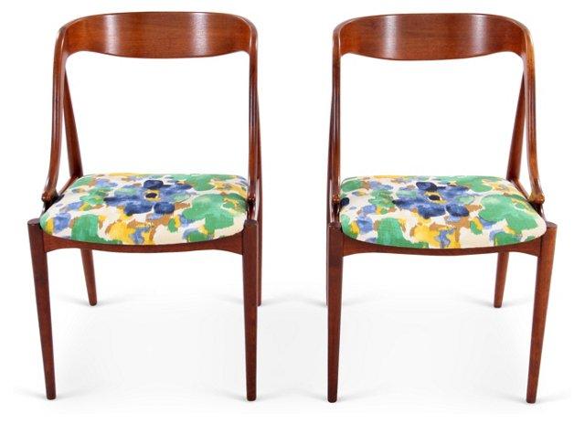 Midcentury Chairs, Pair