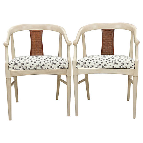 Peppercorn Tsu Chairs, Pair