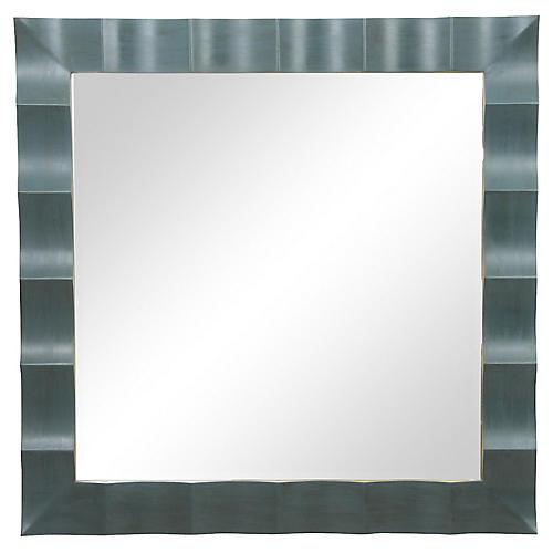 Baker Square Scalloped Mirror