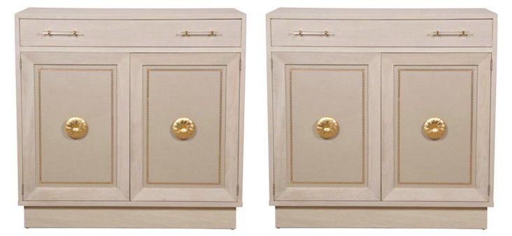 Grosfeld House Cabinets, Pair