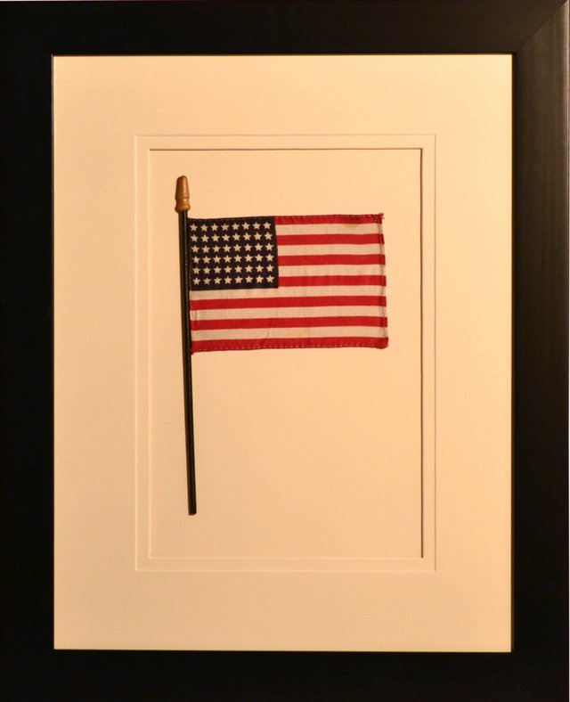 Framed   48-Star Flag