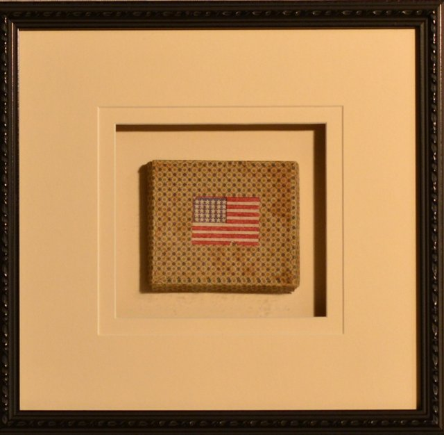 30-Star Flag Box, C. 1850
