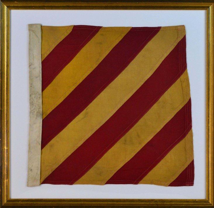 Nautical Signal Flag, C. 1915