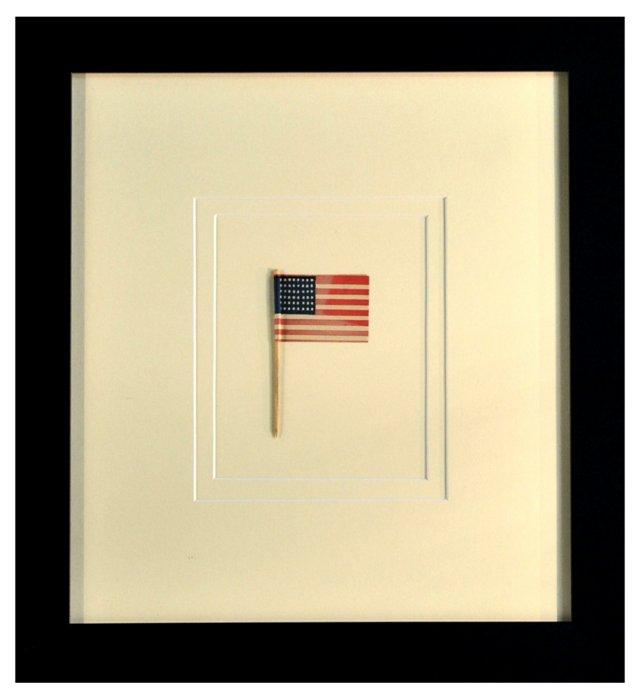 Framed 48-Star                     Flag