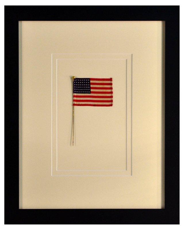 Silk WWII Era 48-Star Flag