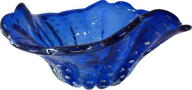 Cobalt Glass Bowl