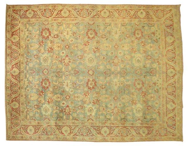 Antique Persian Tabriz, 10'6'' x 8'2''