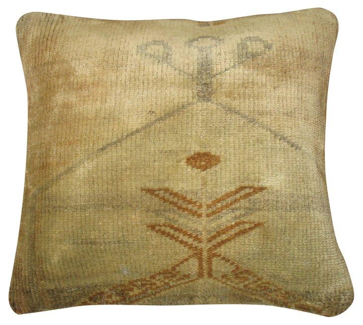 Beige Oushak     Pillow