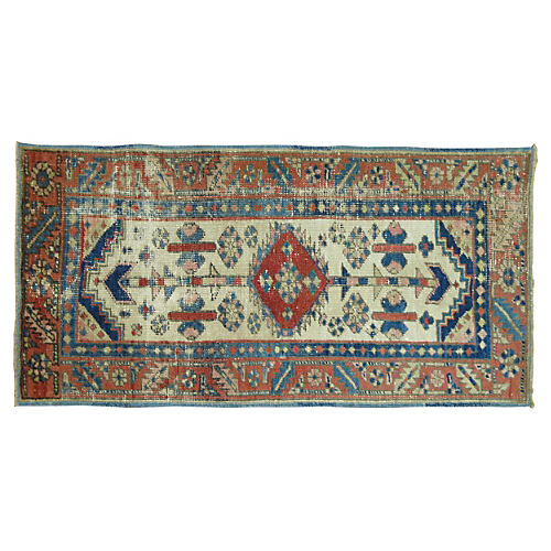 Antique Persian Heriz, 3'11'' x 2'1''