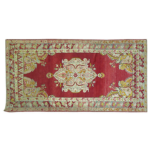 Antique Melas Rug, 7'7'' x 4'2''