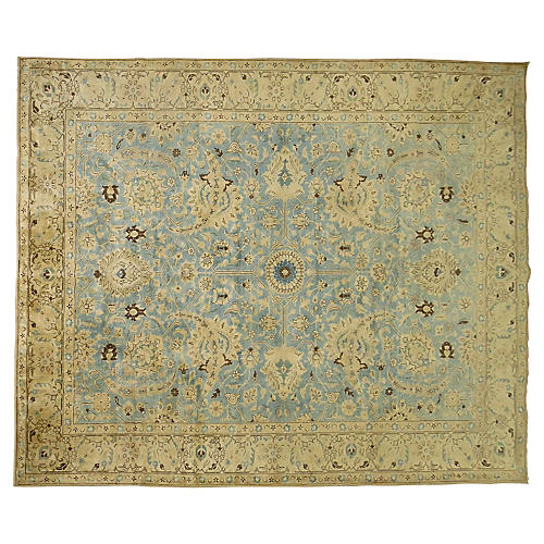 Antique Tabriz Carpet, 12'10'' x 9'11''
