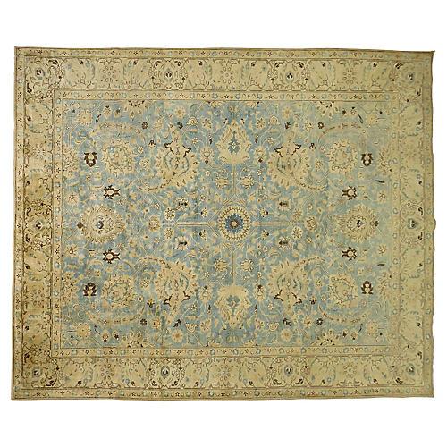 Antique Tabriz Carpet, 12'10'' x 9'11''