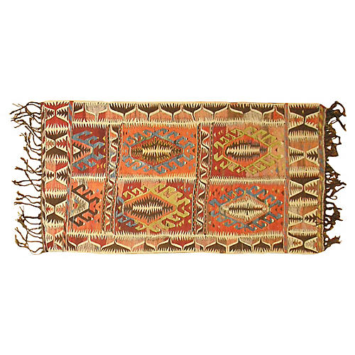 Moroccan Kilim, 8' x 4'1''