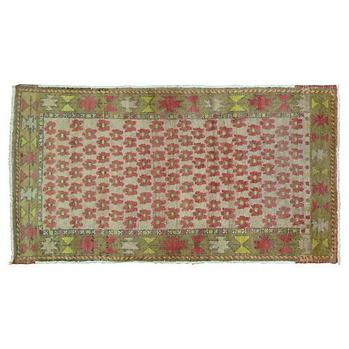 Anatolian Rug, 2'3'' x 3'10''