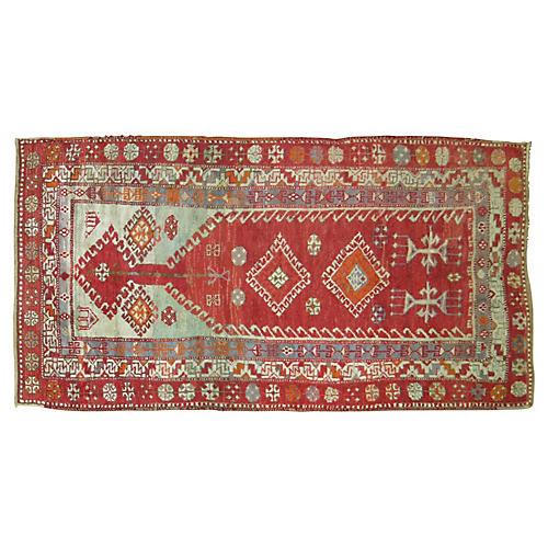Turkish Prayer Rug, 3'2'' x 5'7''