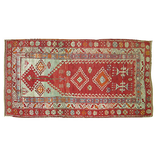 Turkish Prayer Rug, 3'2'' x 5'7''