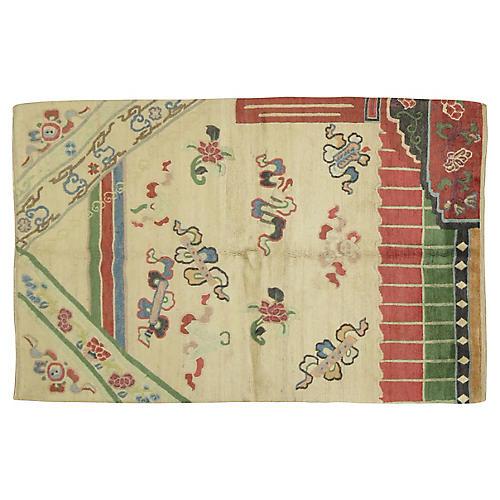 Tibetan Rug, 4' x 6'