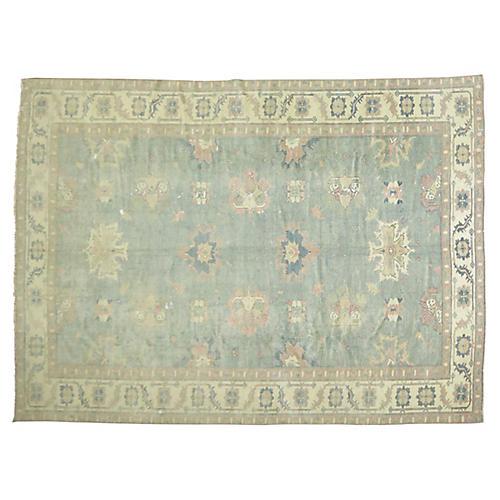 """Oushak Carpet, 9' x 13'6"""""""