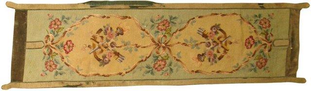 19th-C. Tapestry Panel