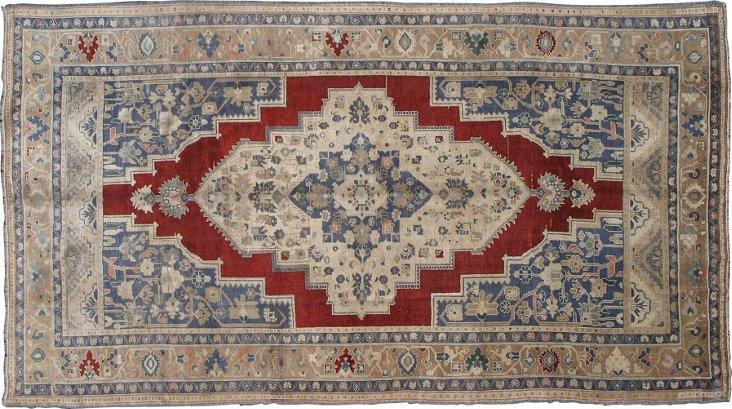 """Turkish Carpet, 6'6"""" x 10'7"""""""
