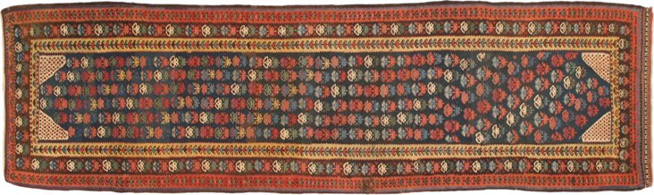 "Persian Soumak Runner, 16'3"" x 3'8"""