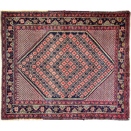 "Persian Star Rug, 4'7"" x 5'7"""