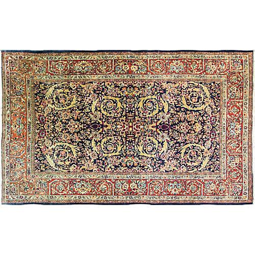 "Royal Kashan Rug, 4'4"" x 7'3"""
