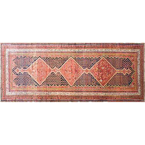"Antique Malayer Rug, 4'6"" x 12'2"""