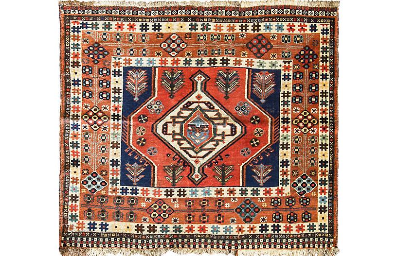 4 2 X 3 8 Unusual Qashqai Rug Eli Peer Oriental Rugs Brands