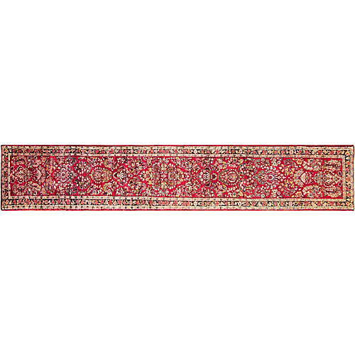 "Persian Sarouk Runner, 2'7"" x 16'2"""