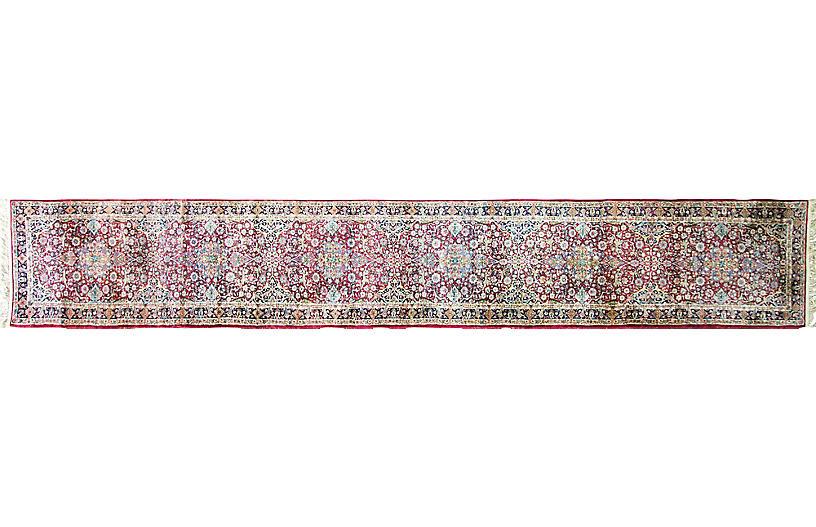 Persian Laver Kerman Runner, 2'8