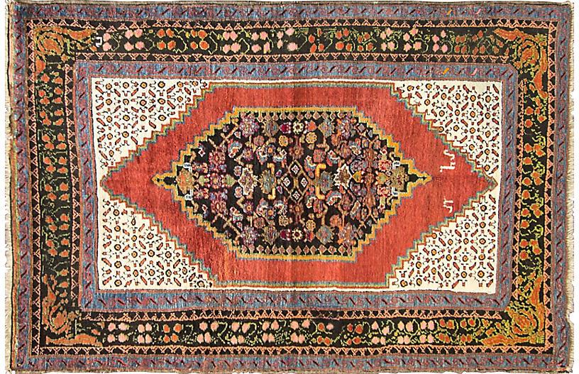 Antique Karabagh Rug, 4'8