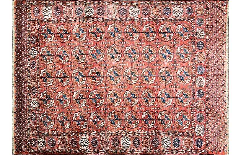 Antique Tekke Main Carpet, Turkoman