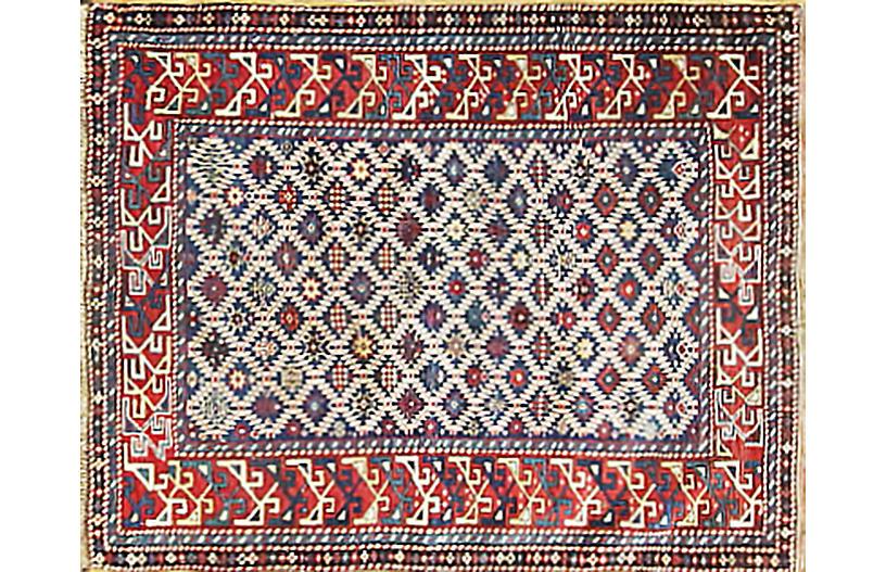 Antique Caucasian Rug, 3'3