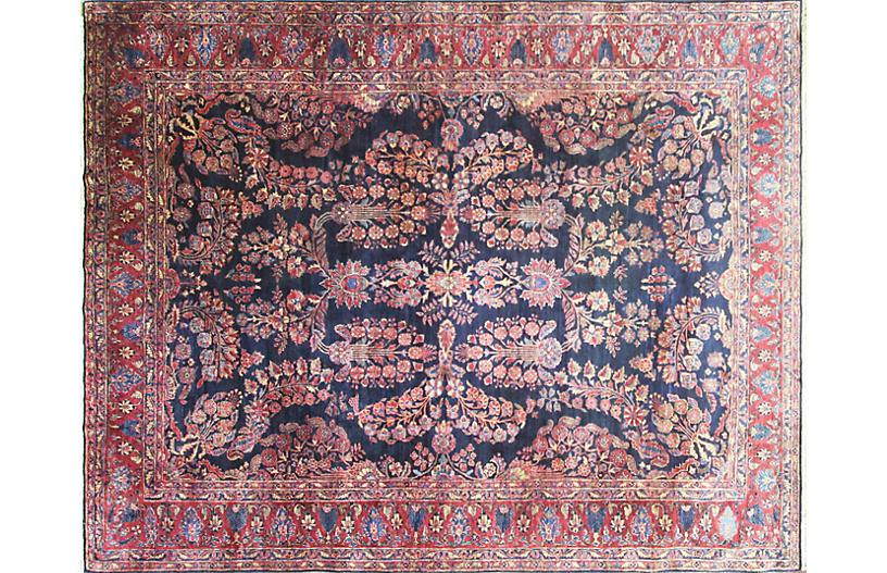 Antique Persian Sarouk Rug 8'9