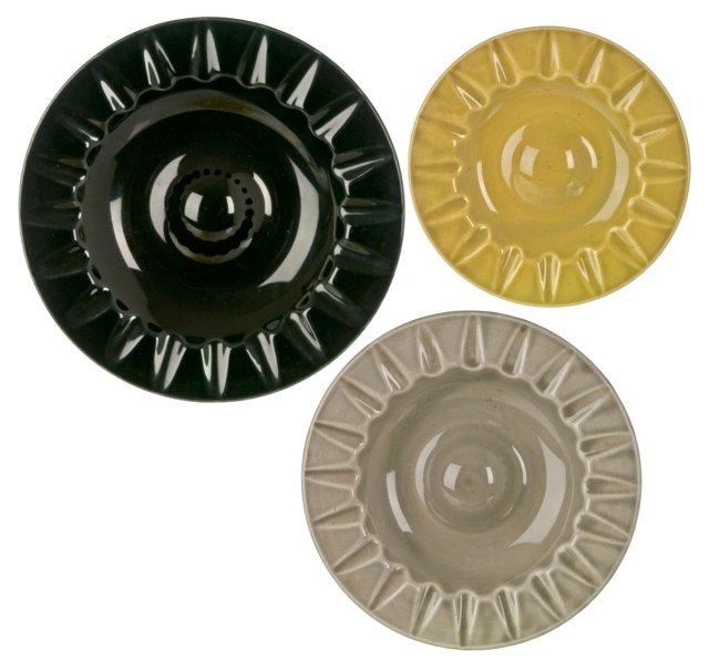 Ceramic Nesting Catchalls, S/3