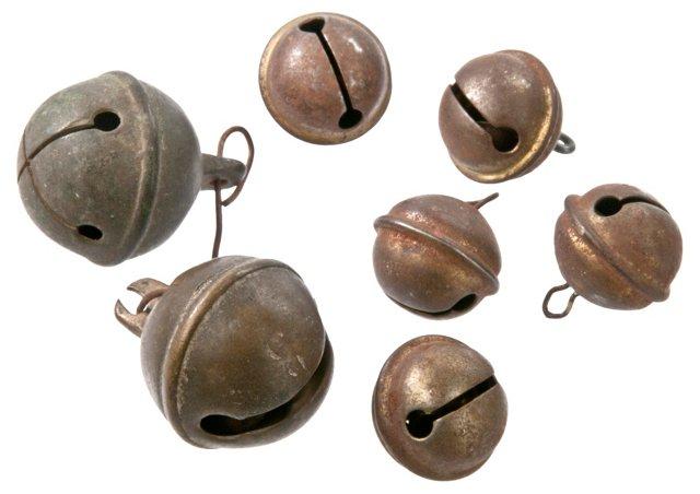French Brass Bells, S/7