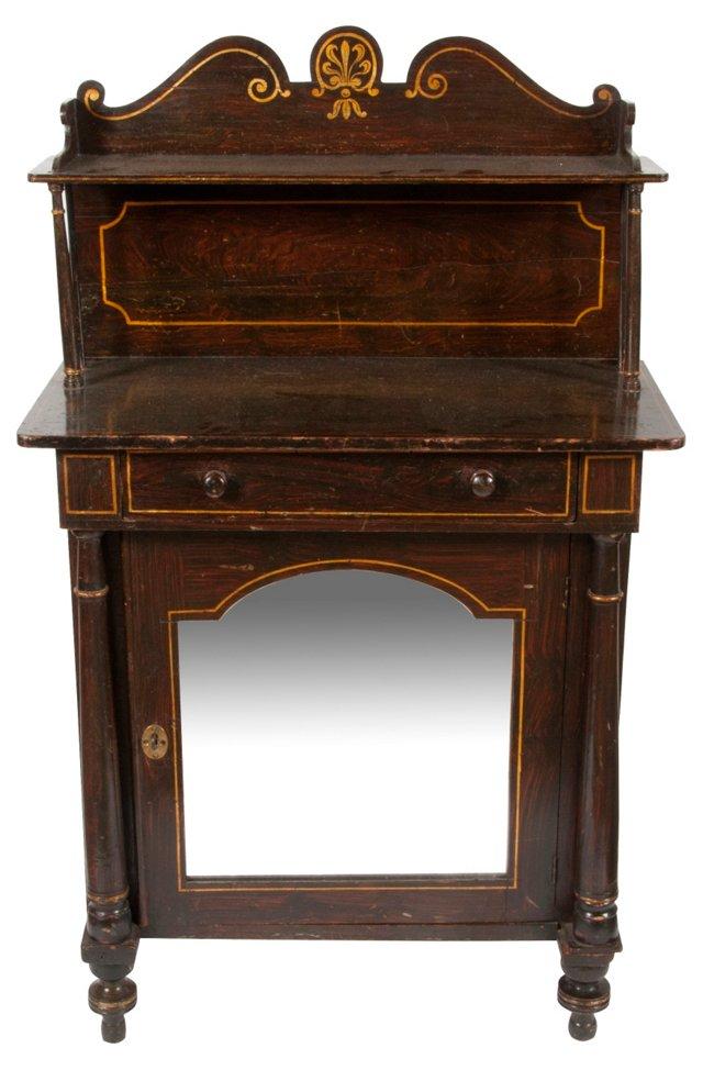 Antique Regency Cabinet