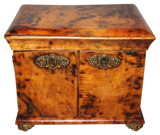 Burled Walnut Box